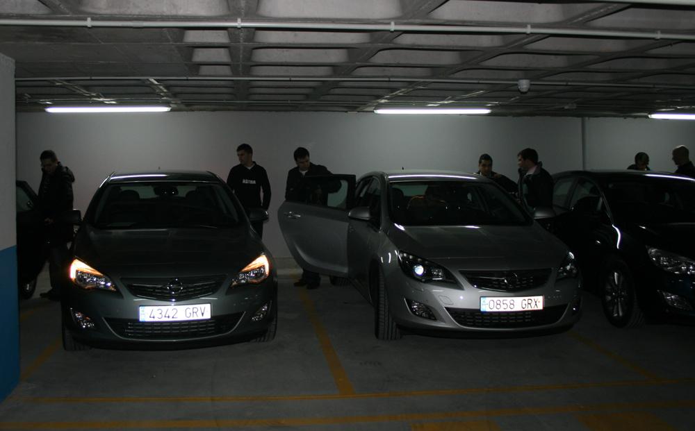 Astra aparcamiento 2