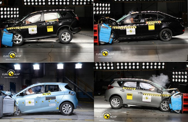 Collage EuroNCAP